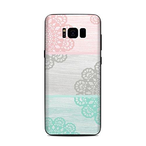 Skins4u DecalGirl Samsung Galaxy S8 Plus Skin Premium 3M Design Vinyl Aufkleber - Doily (Doily-design)