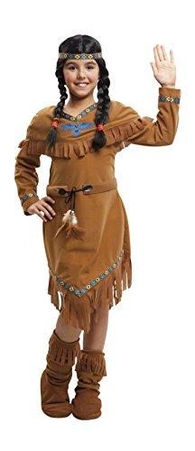 My Other Me Me - Disfraz de india velvet para niña, 5-6 años (Viving Costumes 203389)