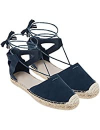 Monsoon Espadrilles à lacets Cléo