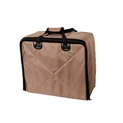 Jhuih Multifunktionale Pet-Tasche, Kann als Auto Anti-Skid-Matte, Kissen, Pet-Tasche, Aufbewahrungsbox, Reise-Handtasche Verwendet Werden,Beige