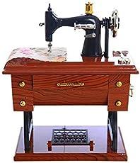 Designeez 1Pc Mini Mechanical Music Box (Style- Sewing Machine)