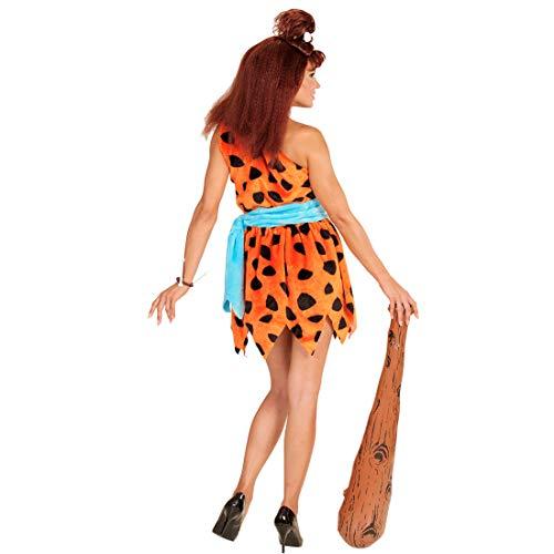Wilma Feuerstein Kostüm Damenkostüm Steinzeit Neandertaler Frau Höhlenfrau Höhlenmensch Damen Verkleidung Flinstones Karnevalskostüm Neandertalerin Faschingskostüm - 3