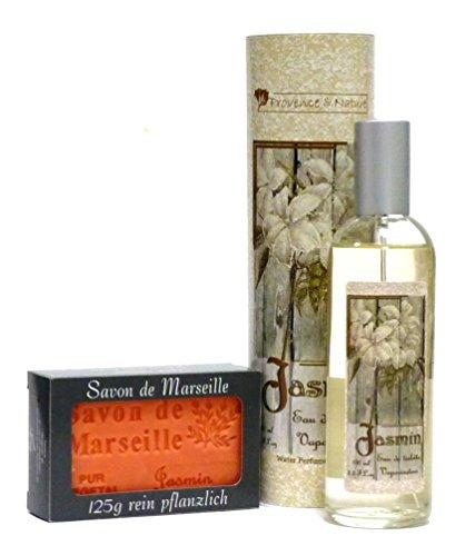 Provence et Nature & Seifenblase Jasmin pflanzlichen duftstoffen & jasminseife sa de marseille r 2-teiliges duft