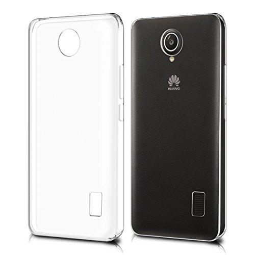 Huawei Y635 Hülle Case , MENGGOOD Hoch Transparent Schutzhülle TPU Klarer Cover Komplett Schutz Bumper Durchsichtig Handyhülle für Huawei Y635 - Anti-Rutsch Case