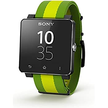 Sony SW2 Android/NFC Visualización directa SmartWatch - Fifa Edición