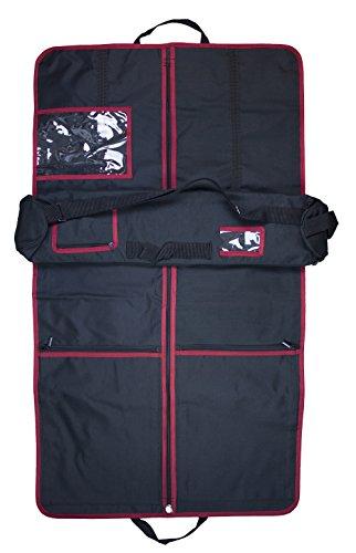 Kilt Wardrobe & Roll (Red Trim)