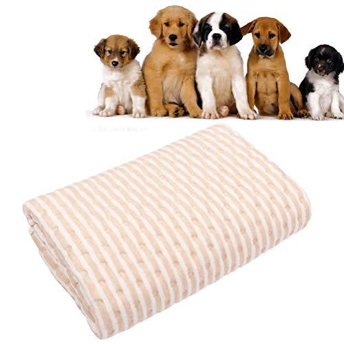 Pee Pads für Hunde, waschbare Puppy Pads Wasserdichte rutschfeste Puppy Training Pads wiederverwendbare Whelping Pad Größe 20x28-Zoll -