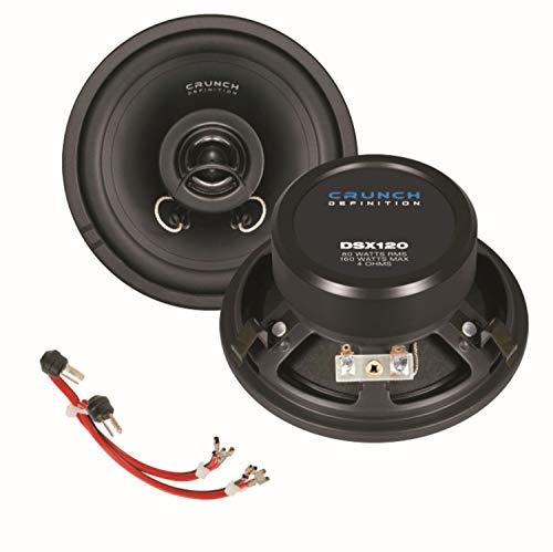 CRUNCH DSX120 12cm 2 Wege Koaxial Lautsprechersystem gebraucht kaufen  Wird an jeden Ort in Deutschland