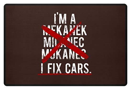 Generic I'm A Mekanek - Micanec - Mukanec I Fix Cars - Design für kompetente Mechaniker - Fußmatte