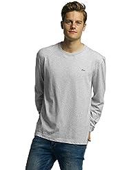 Lacoste Classic Hombres Ropa superior / Camiseta de manga larga Sport