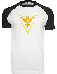 Go Team Gelb - Raglan-Shirt