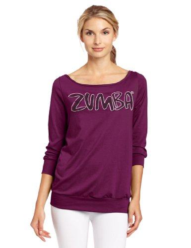 Zumba Fitness Flare Headliner Maillot de corps Femme Plum