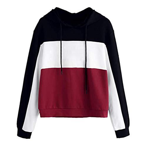 TWIFER Damen Mode Hoodie Sweatshirt mit Kapuze Oberteile -