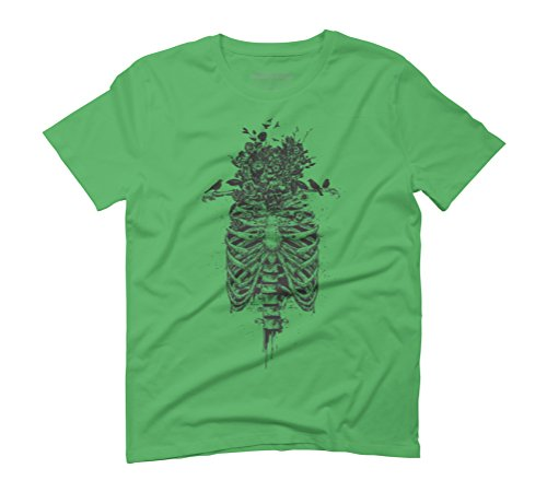 Tree of life Men's Graphic T-Shirt - Design By Humans Green