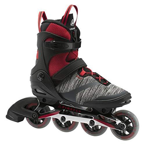 Firefly Herren Ils 310 M84 Skateboardschuhe Schwarz (Black/Red 900) 44 EU