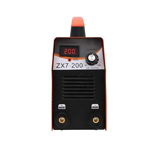 Máquina de Soldadura MMA-200Amp Soldador Inverter IGBT 20-200A Ajustable