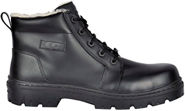 Cofra Vanuatu S3 CI SRC – zapatos de seguridad talla 41 NEGRO