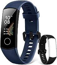 HONOR Band 5 Smartwatch Fitness Tracker Monitoraggio SpO2, Battito Cardiaco 24/7 e Sonno, Display Touch AMOLED