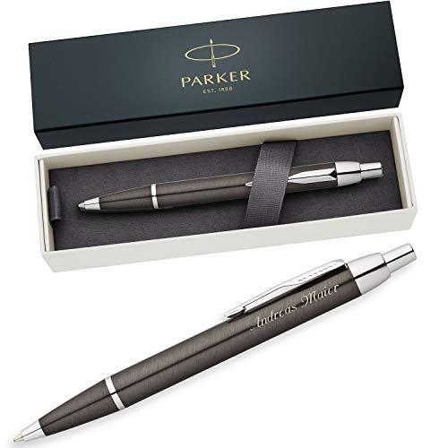 PARKER Kugelschreiber IM Gunmetal C.C. S0856490 mit persönlicher Laser-Gravur