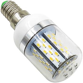 aiyowei E14 5 W Bombilla LED maíz bombilla con carcasa 78 – 3014 SMD AC/