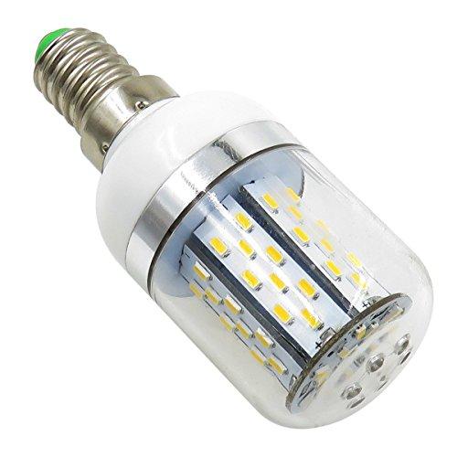 AIYOWEI E14 5W LED Glühbirne Maisbirne mit Abdeckung 78-3014 SMD AC / DC 12 V-24 V explosionsgeschützte Kerzenlicht Weiß 6000 Karat (Pack 2) (Explosionsgeschützte Beleuchtung)