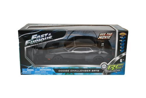 fast-furious-black-dodge-challenger-srt8-radio-control-car-controller-8-l-by-nkok-toy-english-manual