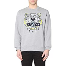 cd0826c51fce Kenzo Homme F955SW0014XA94 Gris Coton Sweatshirt