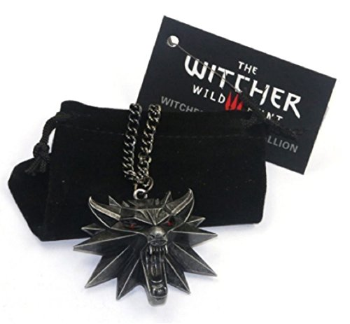 Merchandising de The Witcher: Colgante lobo