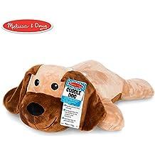 Melissa & Doug 40705 Puppets Cuddle Dog Jumbo Plush Stuffed Animal (Reusable Activity Card, Nametag), Multi-Colour