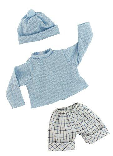 ralfsmith–Shorts und Jersey, für 45cm Puppe Baby, Blau (45733)