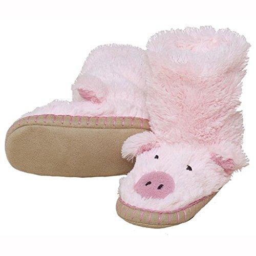 Hatley-Slouch-Piggy-Girls-Hi-Top-Slippers