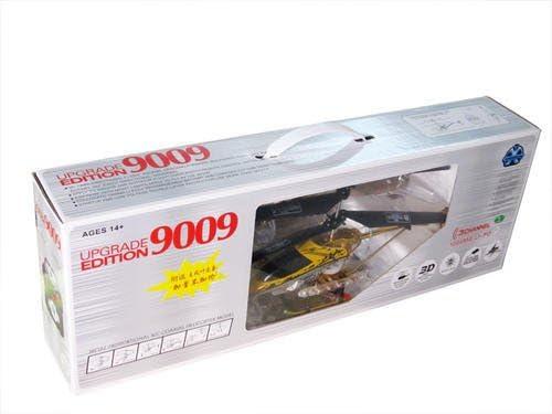 T-Speed 9009 LiPo Aluminium - Hélicoptère RC 3D 3.5 canaux GYRO | Impeccable