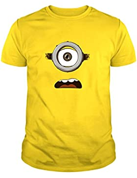 The Fan Tee Camiseta de Minions Banana Gru Mujer