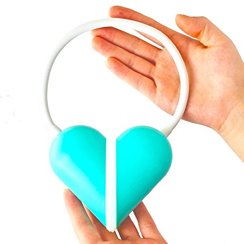 Eplze Créatif Amour Cœur Pliable LED Bureau Lampe Œil Qui Dimmable Toucher-Sensible Rechargeable Table Lampe - Vert Coquille Blanc lumière