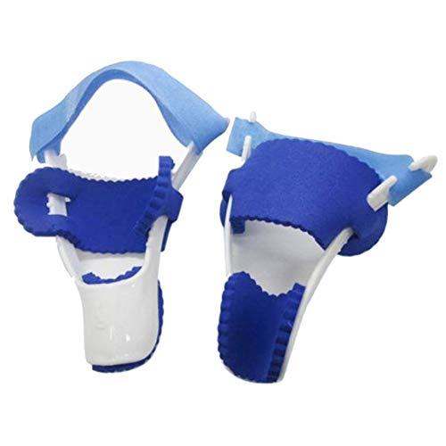 Uso noche dedo gordo del pie del juanete de dispositivos férula enderezadora Hallux Valgus Pro Los apoyos del dedo del pie Corrección Separador