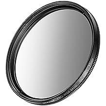 Neewer Filtres ND Gradués (Gris) pour Canon EOS 7D, 60D DSLR Caméras avec EF-S 18-200mm f/3,5-5,6 IS, EF 28-135mm f/3,5-5,6 IS USM Zoom Objectifs et Autres Appareil photo avec 72mm Objecti (72mm)