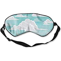 Sleep Eye Mask Nature Flying Whale Lightweight Soft Blindfold Adjustable Head Strap Eyeshade Travel Eyepatch E13 preisvergleich bei billige-tabletten.eu