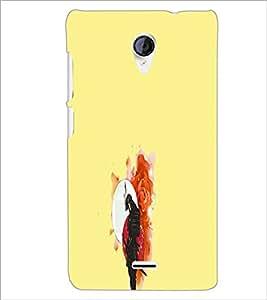 PrintDhaba Couple D-4433 Back Case Cover for MICROMAX A106 UNITE 2 (Multi-Coloured)