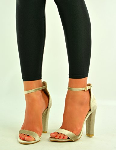 Cucu Fashion - Strap alla caviglia donna Beige