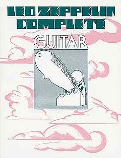 Led Zeppelin Complete (Guitar). Partitions pour Ligne De Mélodie, Paroles et Accords(Boîtes d'Accord)