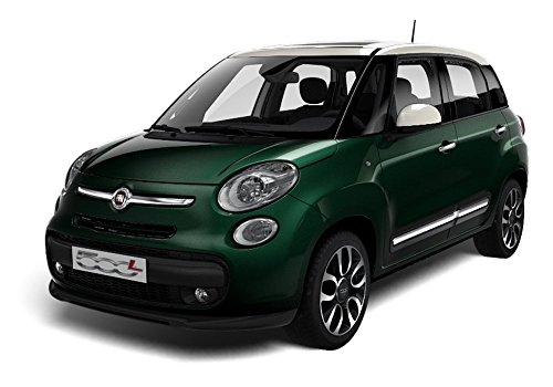 Fiat 500L Lounge 1.6 Mjt 120 CV, Verde con tetto bianco - Welcome Kit