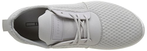 ESPRIT Damen Lune Lace Up Sneakers Grau (040 Light Grey)