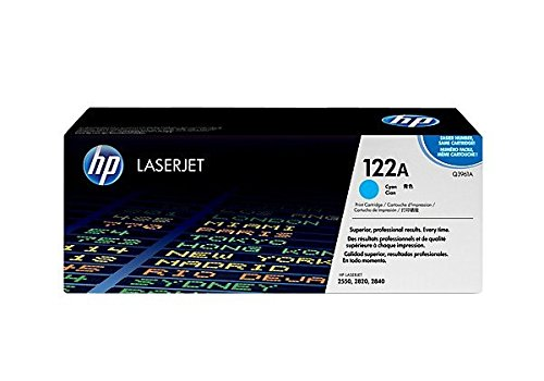 HP 122A (Q3961A) Blau Original Toner für HP Color Laserjet 2550, 2820,...