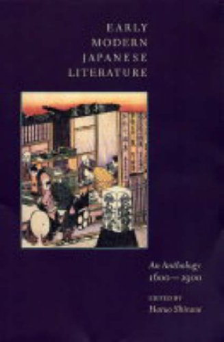 Early Modern Japanese Literature: An Anthology, 1600-1900 (Translations from the Asian Classics)