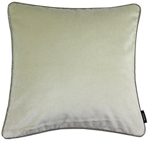 McAlister Textiles Luxury Kollektion |Mattes Samtkissen mit Entenfederfüllung 40cm x 40cm in...