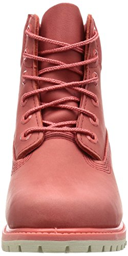 Timberland 6 In Premium Boot Aqk, Bottes et Bottines Classiques Mixte Adulte Multicolore (Coral Waterbuck)