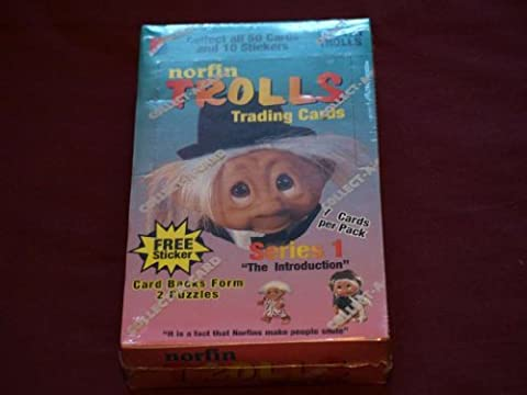 1992 Collect A Card Norfin Trolls Trading Cards Unopened Box [Toy]