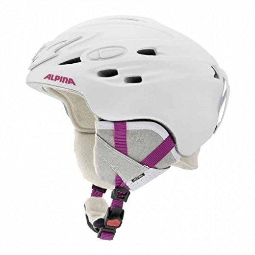 Preisvergleich Produktbild ALPINA Erwachsene Skihelm Scara, Pearlwhite Pink Matt, 52-56 cm, 9017205 by Alpina