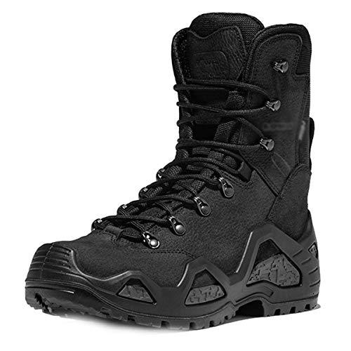 Botas militares impermeables y resistentes al desgaste para hombres, botas tácticas del desierto al aire libre, botas de combate, zapatos de seguridad para la policía, zapatos para caminar,A-41