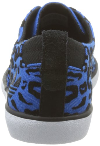 Adidas Originals Azurine Low W, Baskets Mode Damen Bleu (Bluebird/Bluebird/Black)